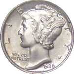 dime mintages and price guide